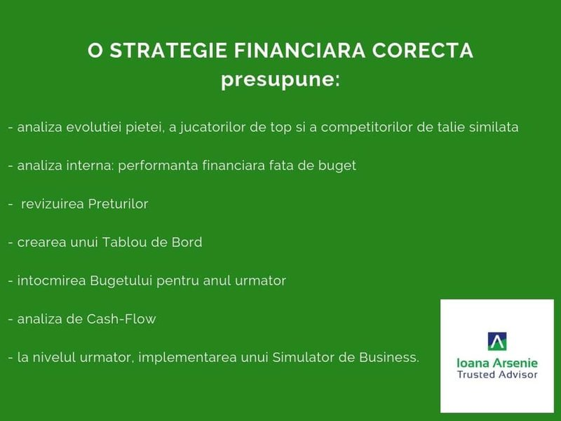 Consultanta strategica si financiara Bucuresti